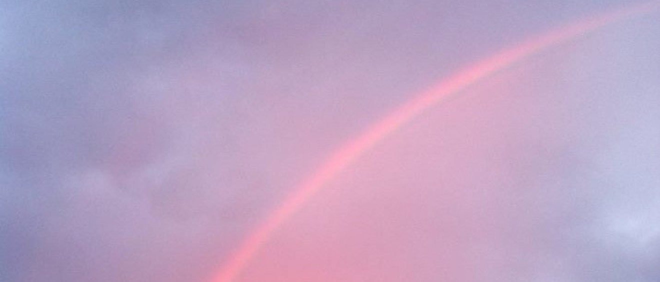 Here We Are Today rainbow